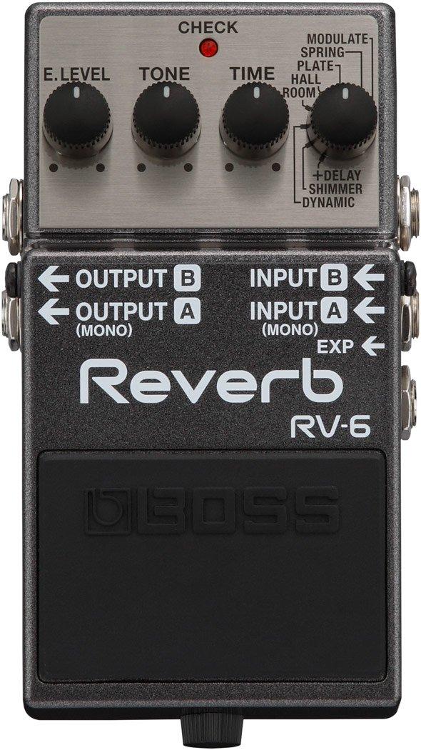 BOSS RV-6 DIGITAL REV AND DELAY PEDAL