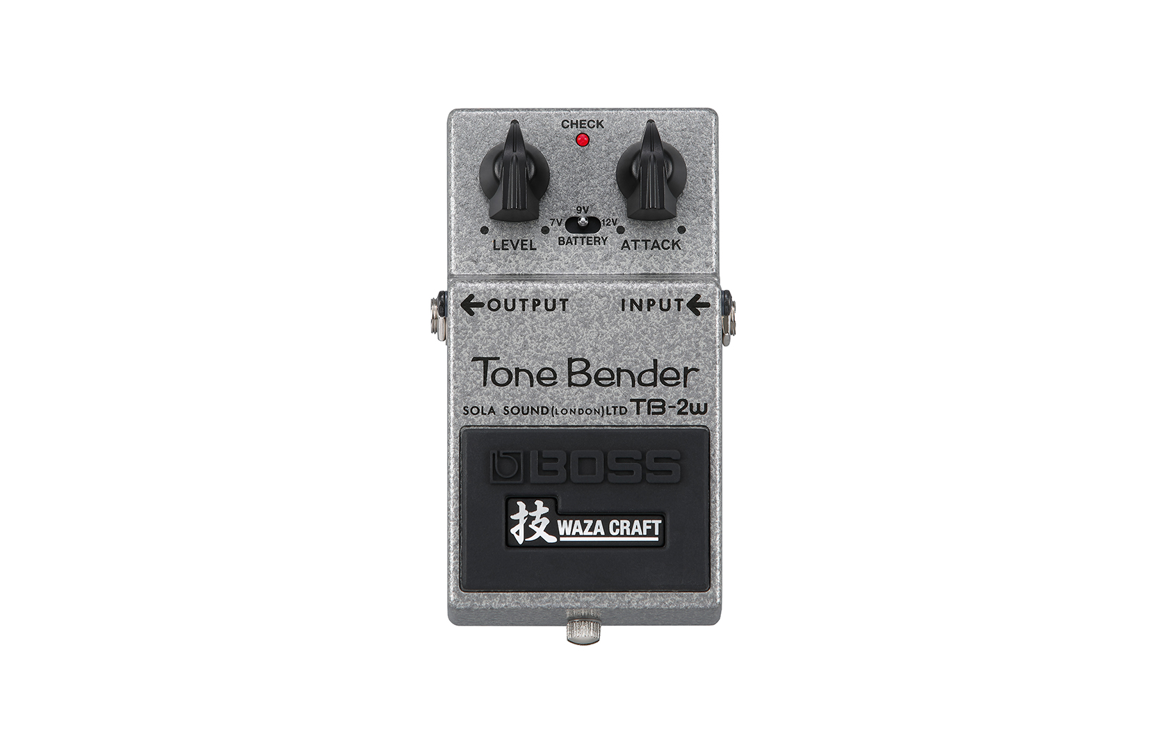 BOSS TB-2W WAZA CRAFT TONE BENDER FUZZ PEDAL