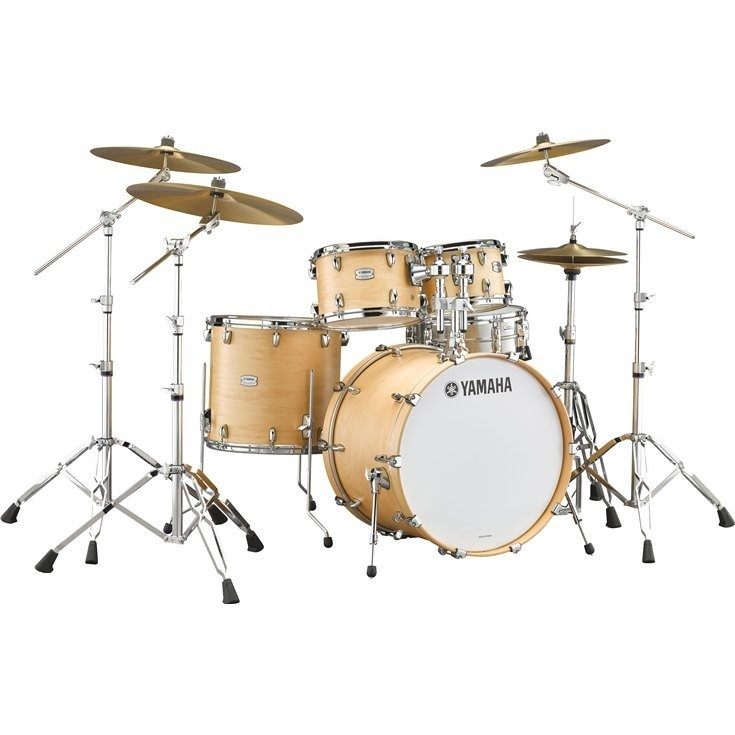 YAMAHA TOUR CUSTOM DRUM KIT SHELL PACK 4-PIECE BUTTERSCOTCH SATIN