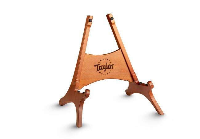 TAYLOR GUITAR STAND, BROWN DANISH BEECHWOOD