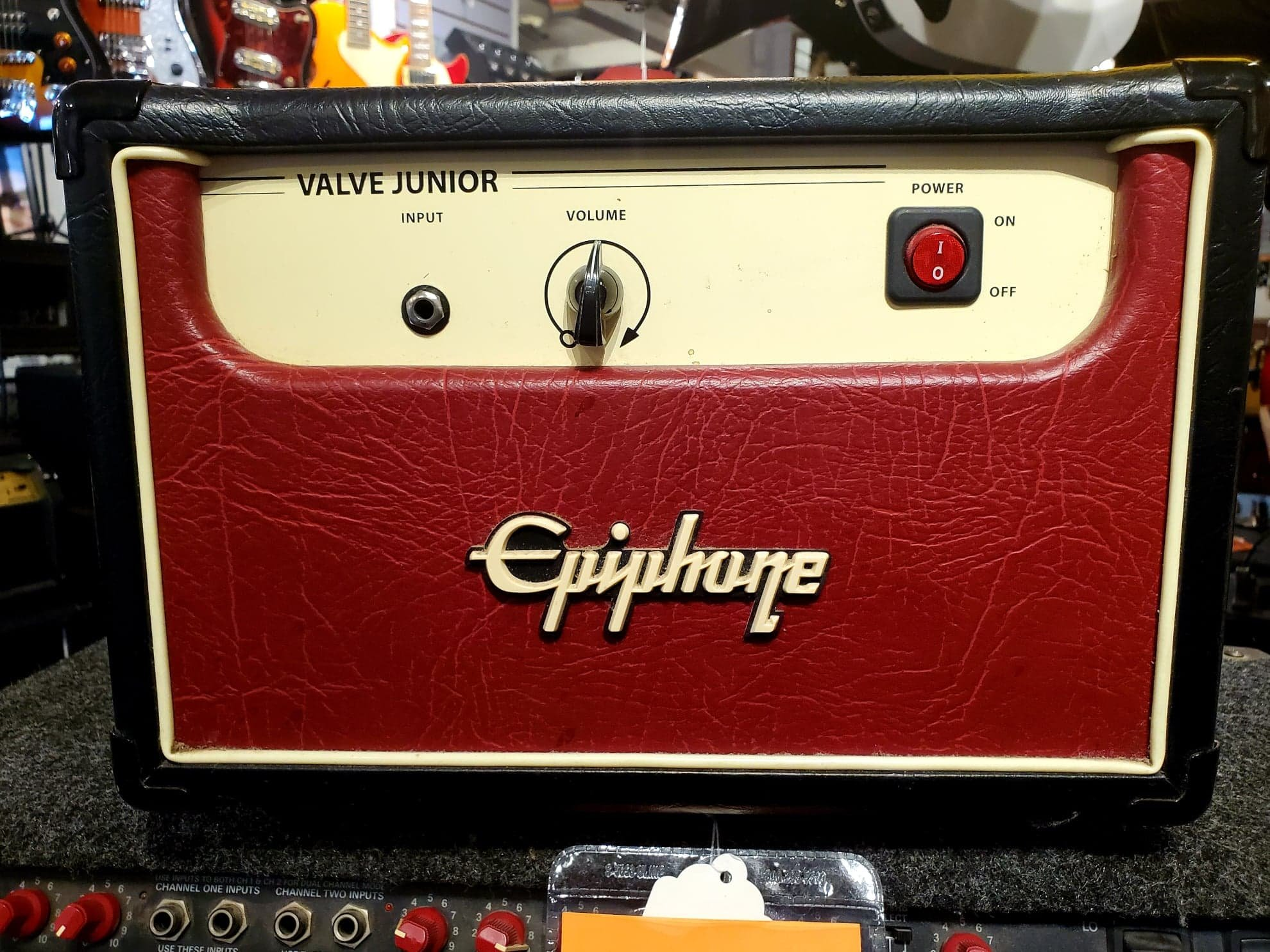 EPIPHONE VALVE JR TUBE GUITAR HEAD