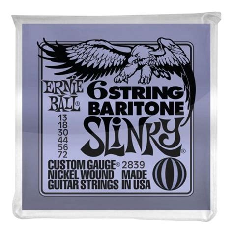 6-String Baritone Slinky - with small Ball End 29 5-8 - Scale-2839U