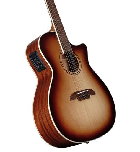 8 String Alvarez Guitar_Artist Grand Auditorium_Acoustic Electric _AG60-8CESHB