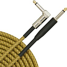 AXL 90 deg Instrument Cable, Brown & Yellow 10'