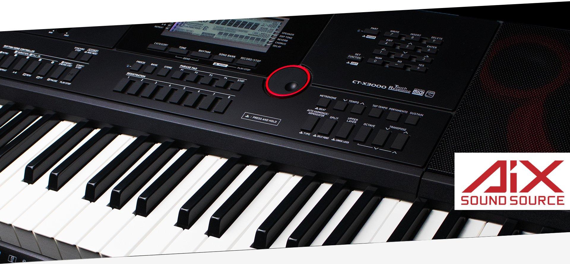Casio Keyboard CT-X3000