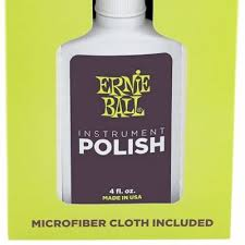 Ernie Ball Guitar Polish - With Microfiber Cloth