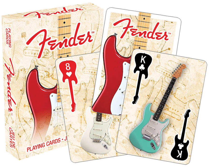Fender Playing Cards Single Deck