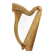 HMNAW Ministrel Harp 29 String Walnut