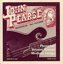 John Pearse Phosphor Bronze Wound Mandolin