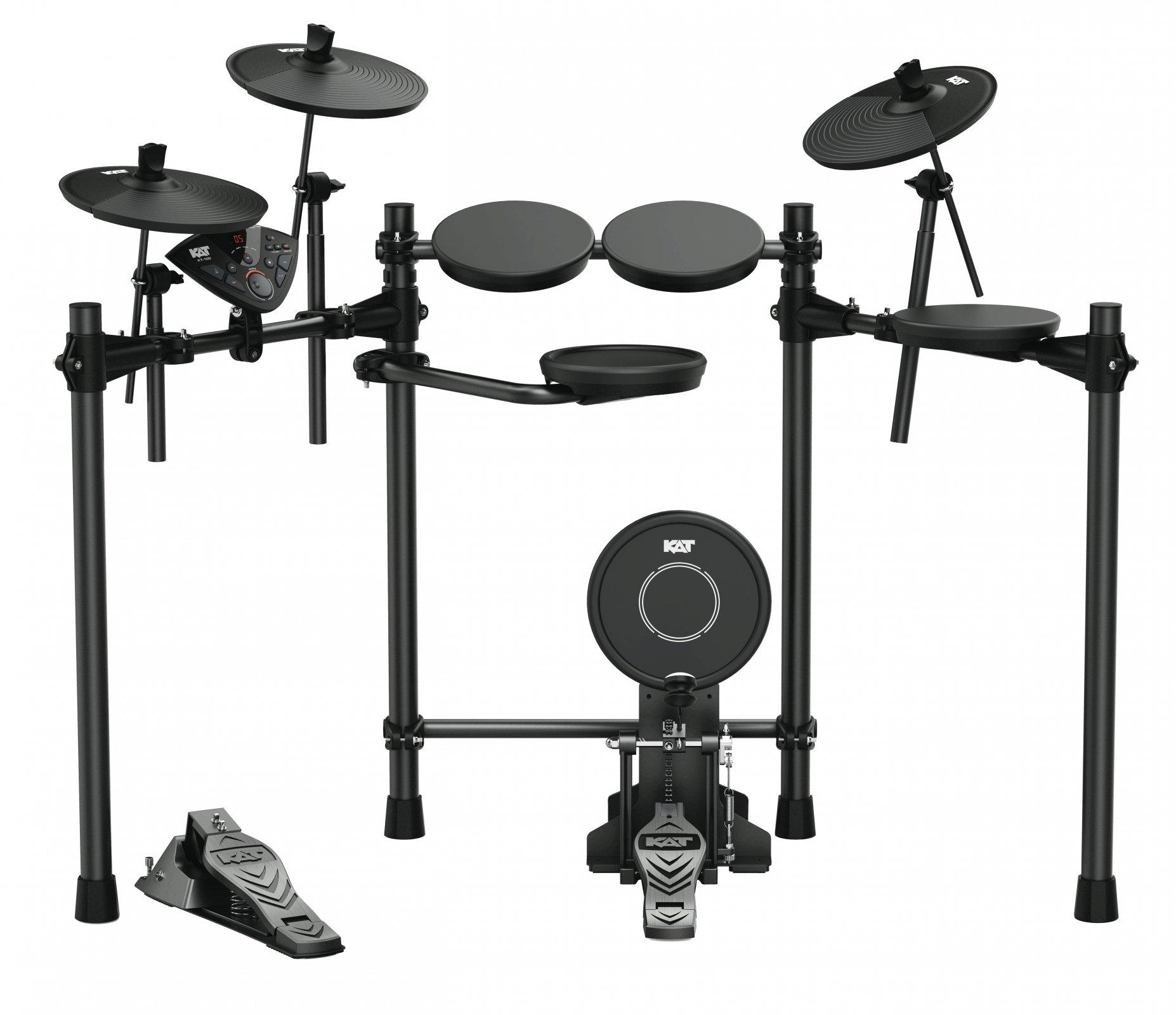 Kat Electric Drum Kit_5 Piece_KT-100