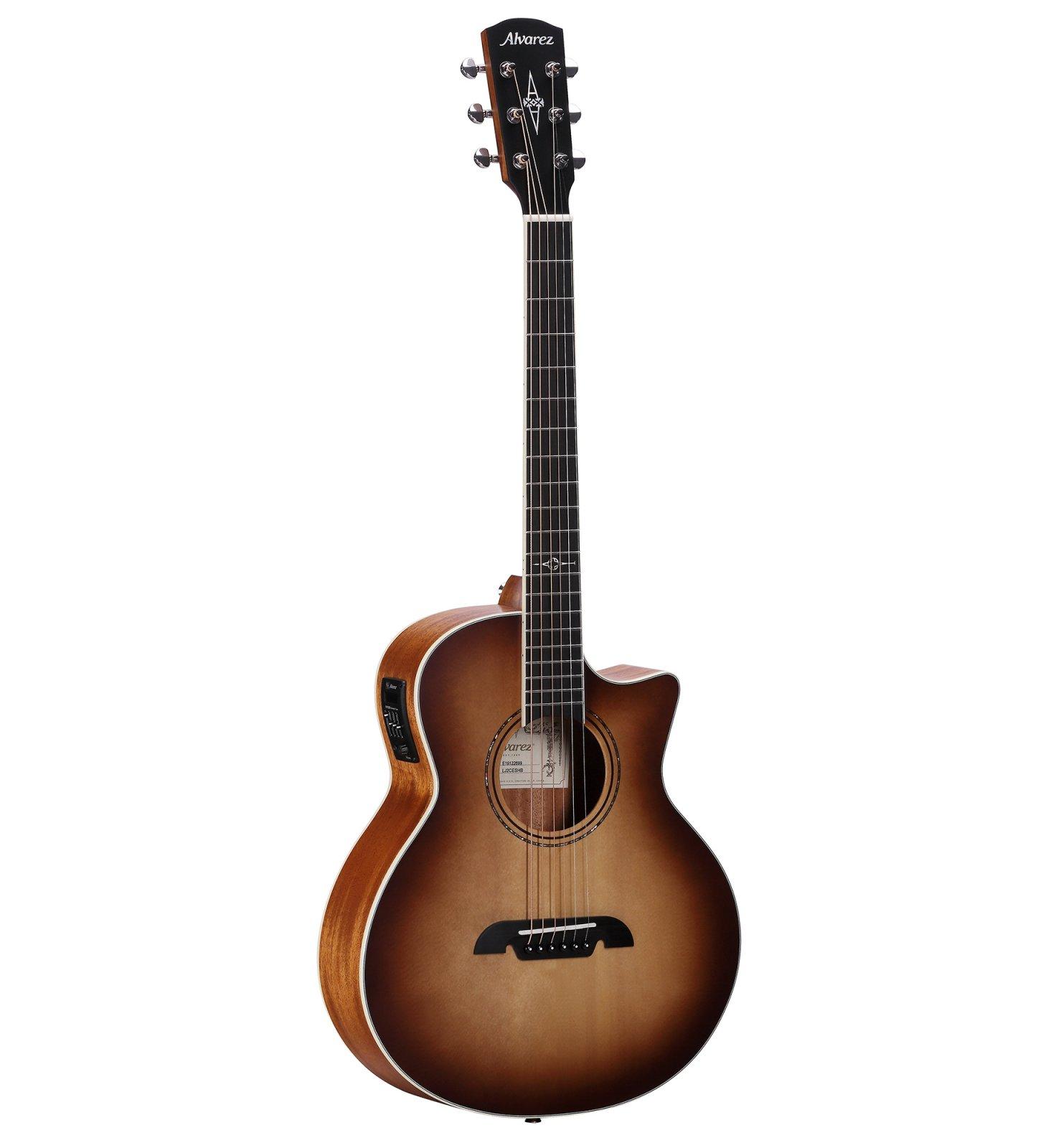 Alvarez Little Jumbo Travel Guitar_LJ2CESHB