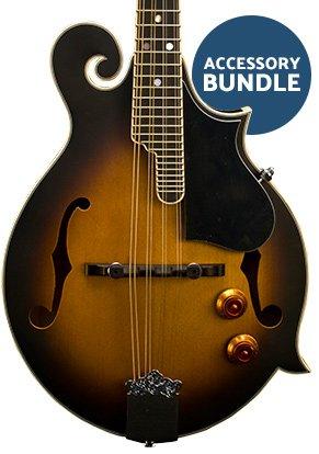 Washburn M3EK-A-U Mandolin Kit - F Style w/ P'up w/ Gig Bag