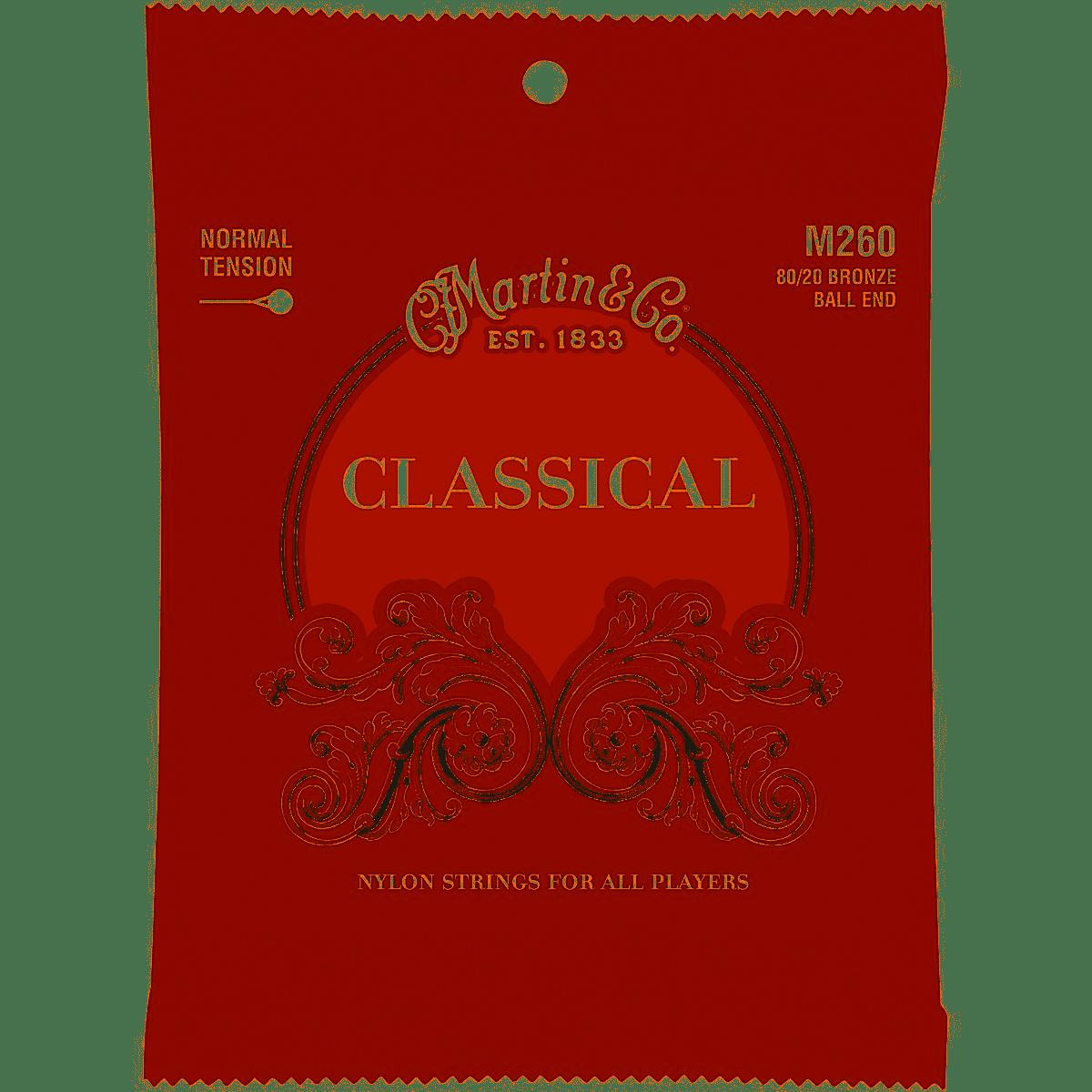 Martin & Company Classical Nylon 80/20 Bronze Ball End - Normal Tension - M260