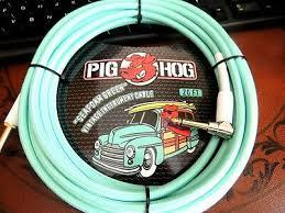 Pig Hog 10' Guitar Cable Seafoam