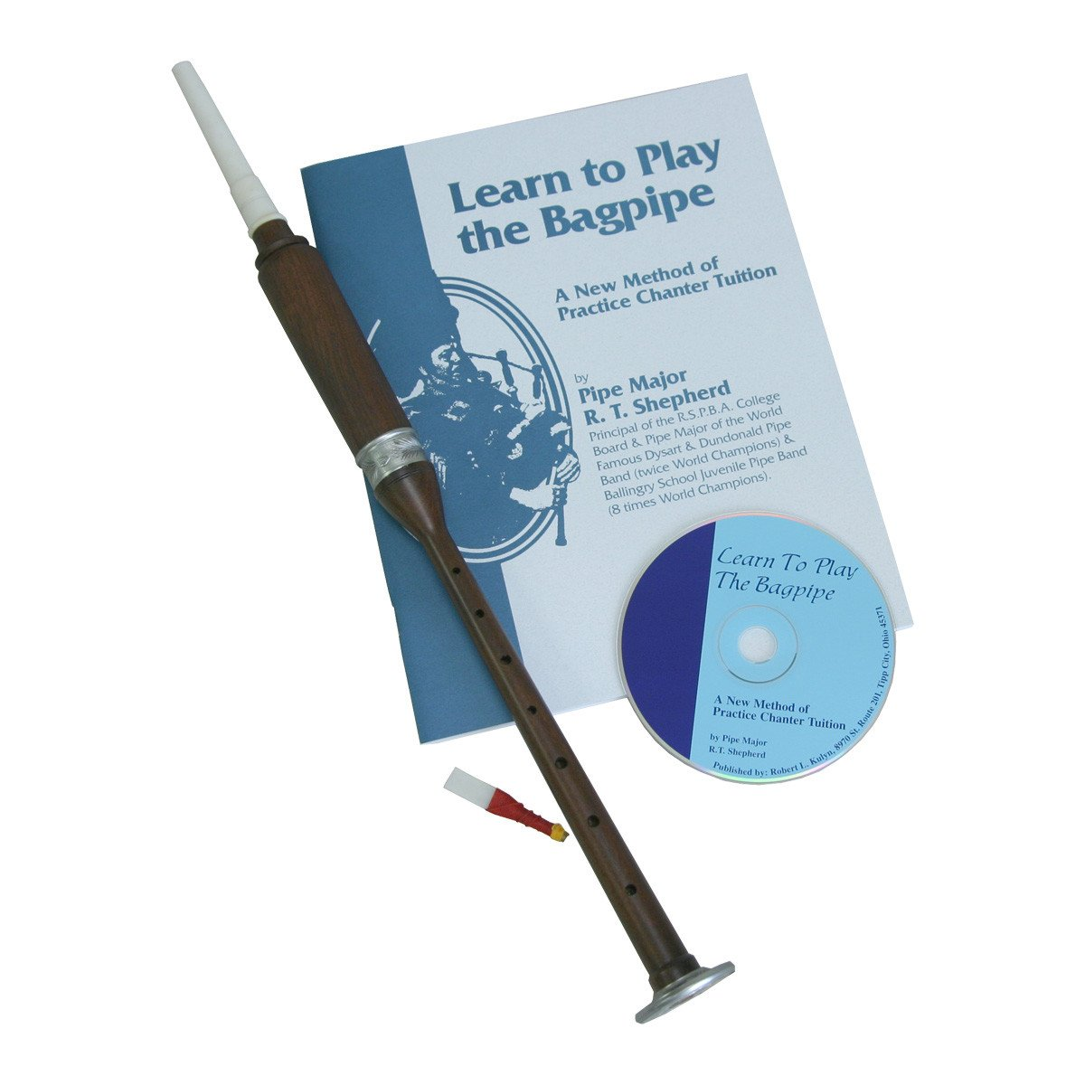 Roosebeck BAGL Sheesham Practice Chanter w/Book and CD