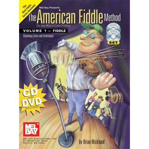 The American Fiddle Method Volume 1 - Fiddle W/CD & DVD Set