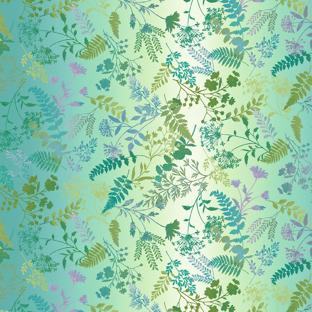 Wildflower Ombre Yardage