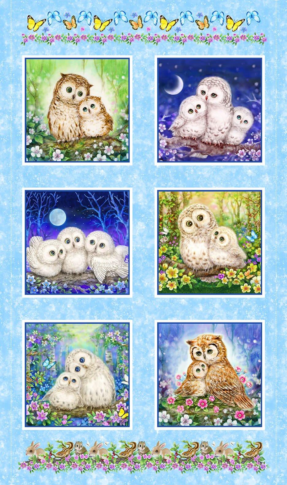 Owl Banner Panel