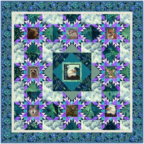 Woodland Wonders Block Quilt Kit