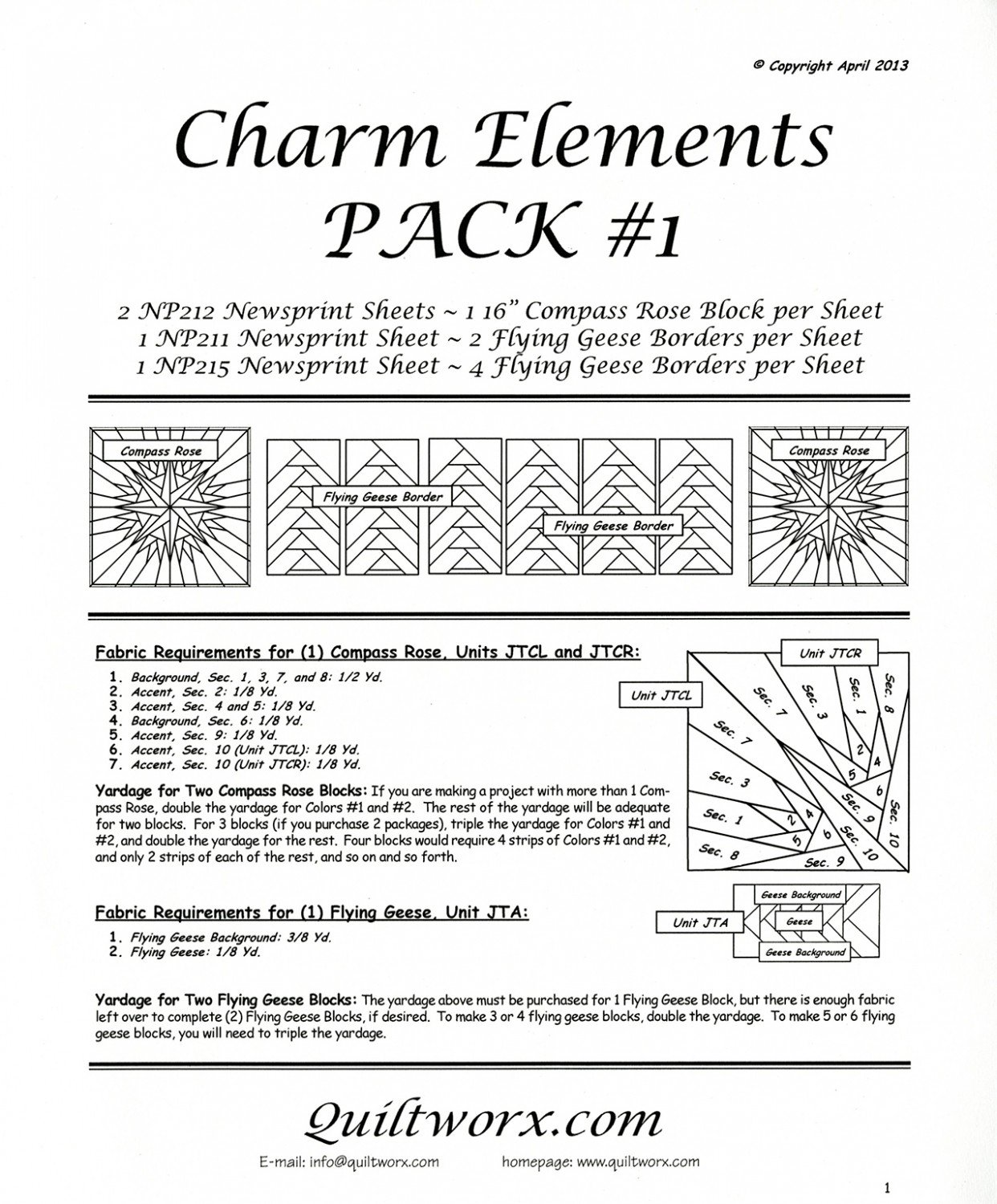Charm Elements Pack #1