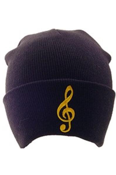 G-Clef Winter Hat (Black)
