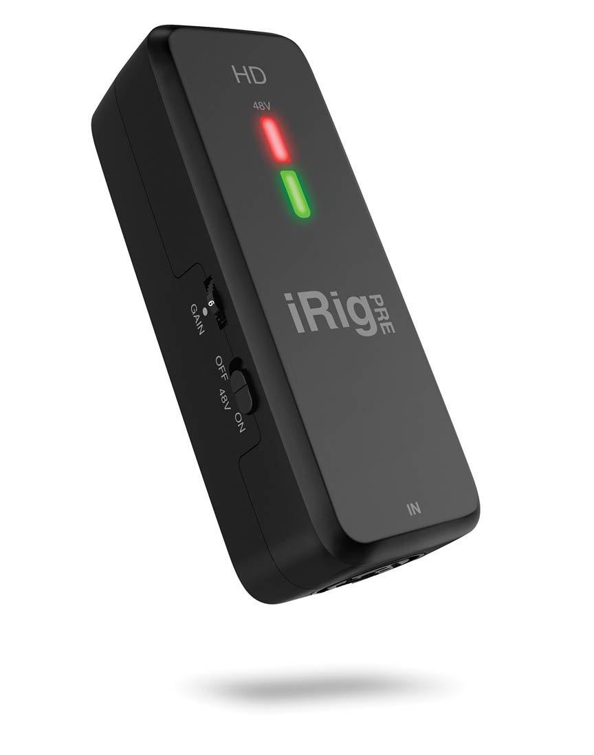 iRig Pre HD High Definition Microphone Interface