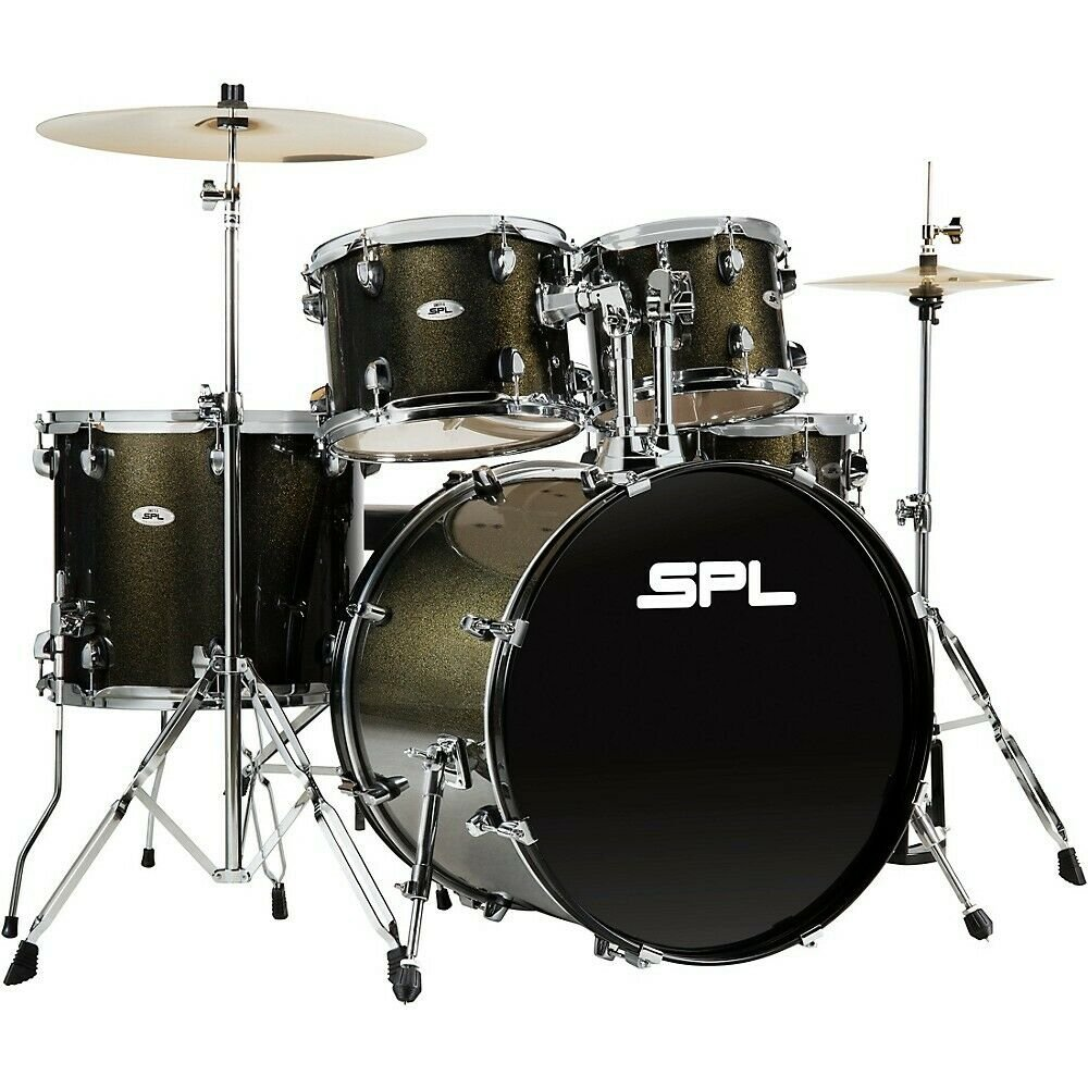 SPL DRUM SET 5PC WITH CYMBALS D5522BOG