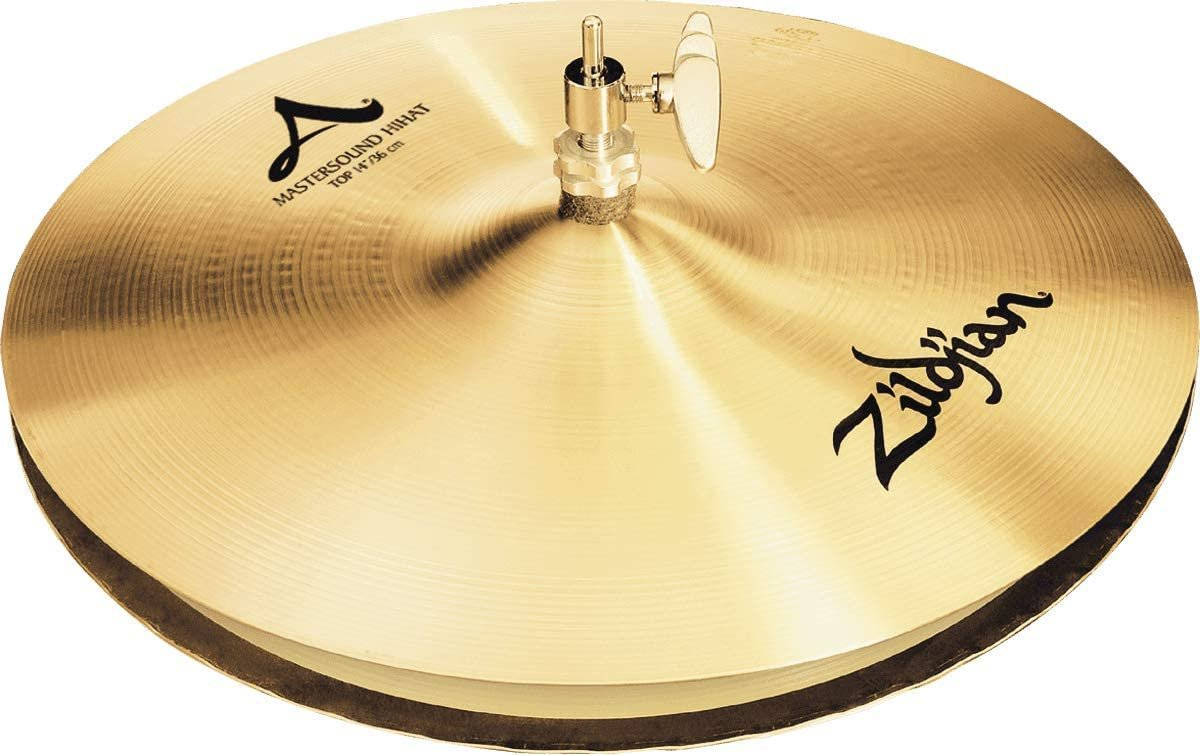 Zildjian A 14 Inch Mastersound Hi-Hat Cymbal Pair