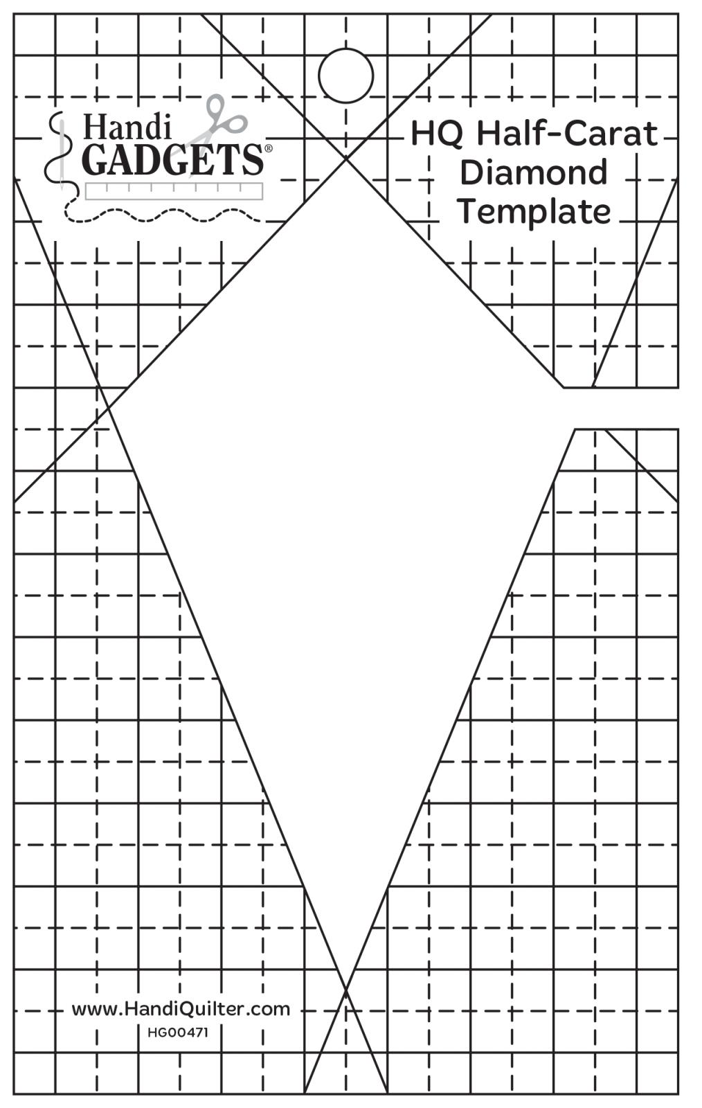 HQ Half Carat Diamond template
