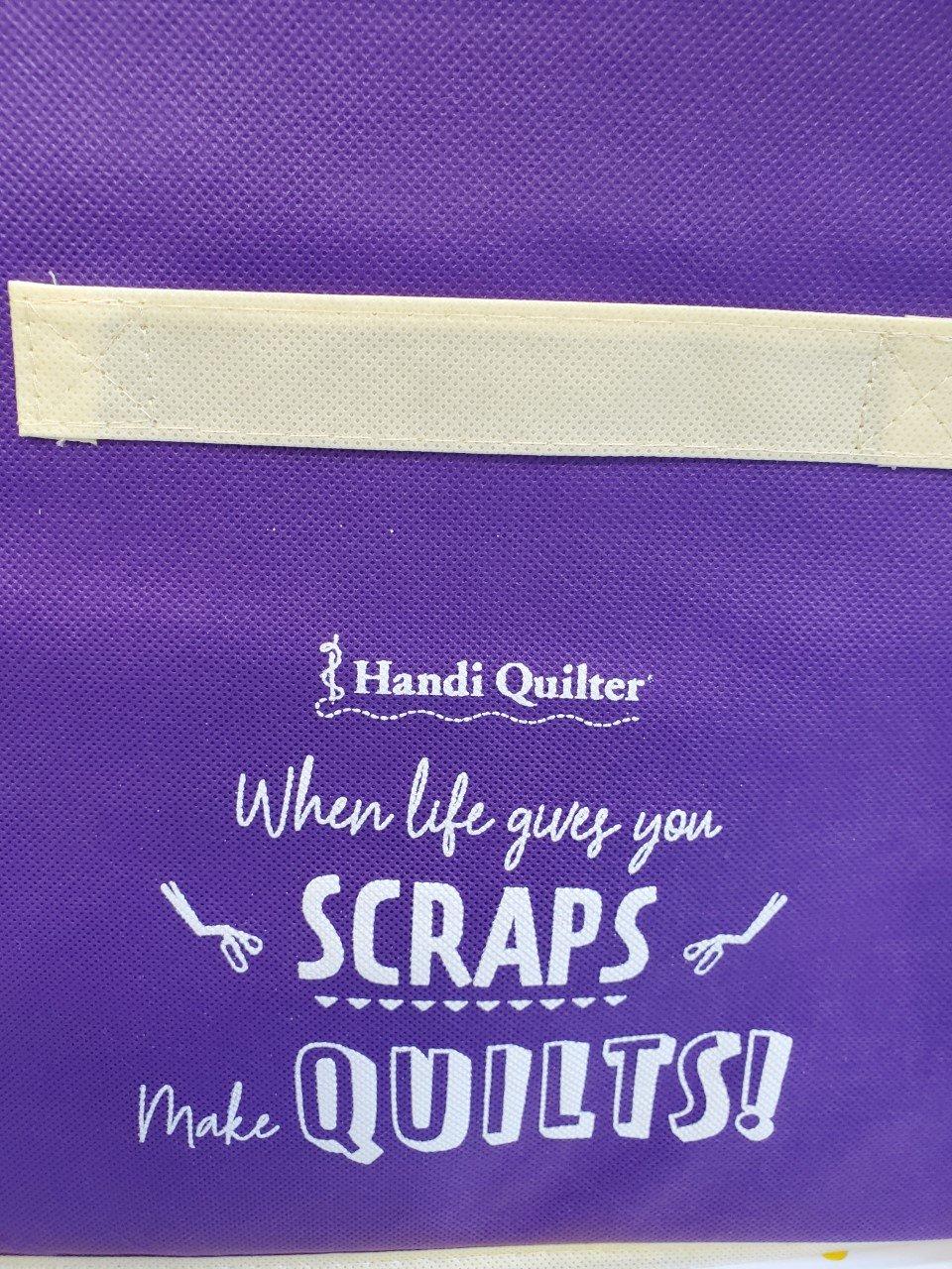 HQ Fabric Bin Scrapes Make Quilts