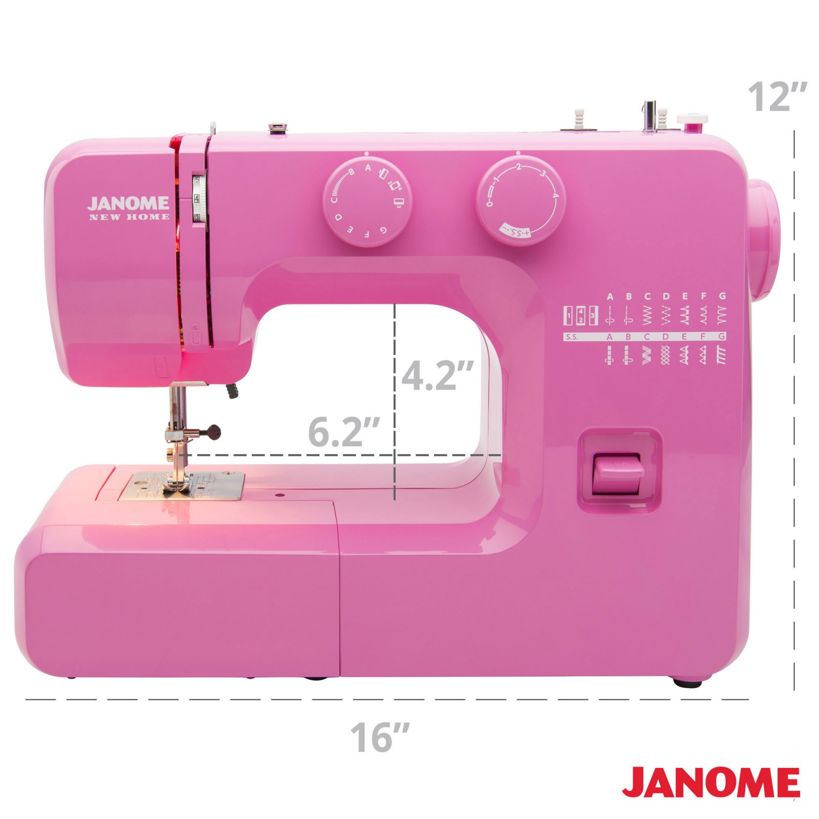 Janome Pink Sorbet Refurb