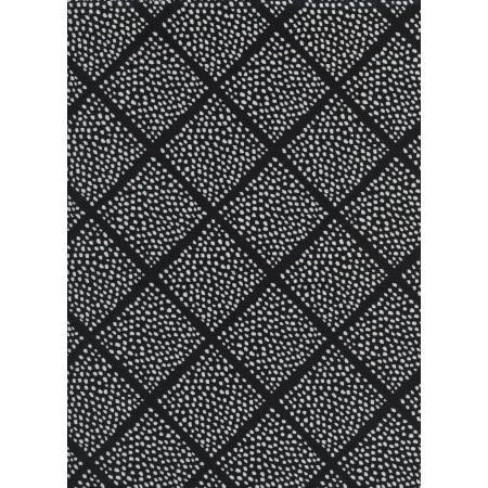 Black & White - Lattice Dots