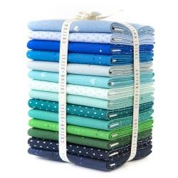 Cotton & Steel Basics - Cool Fat Quarter Bundle 16 pcs