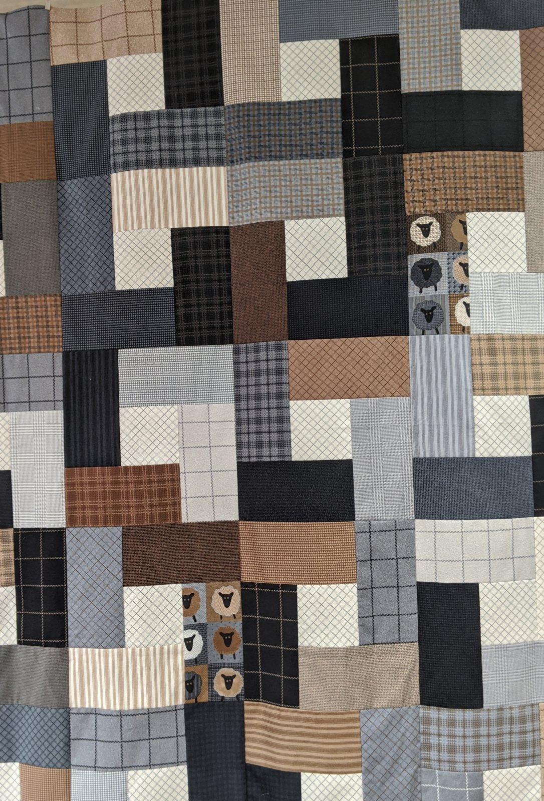 Farmhouse Flannels II Kit 54 x 68