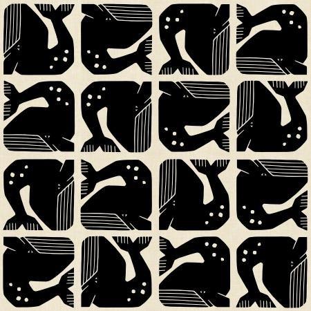 Grumpy Whale Black
