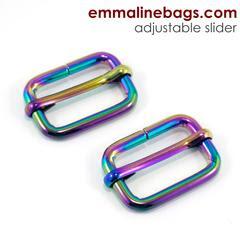 adjustable sliders iridescent