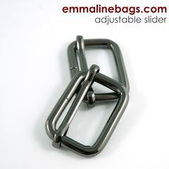 adjustable sliders gunmetal