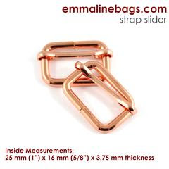 adjustable sliders copper
