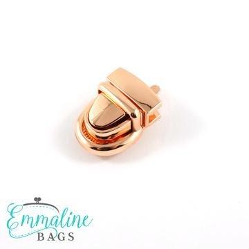 Baby press lock copper