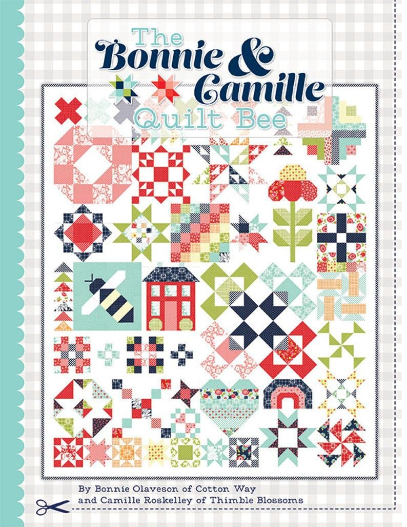 Bonnie & Camille Quilt Bee Sampler BOM Nov 20 & Oct 21