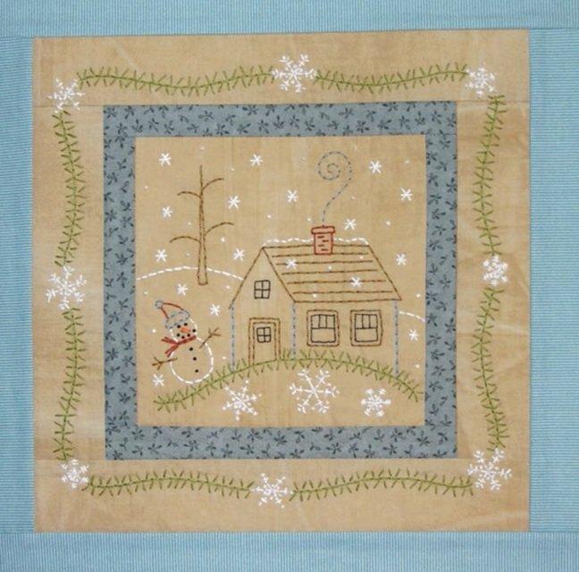 Bareroots Little Stitches Towel BOM Jan 21 & Dec 21