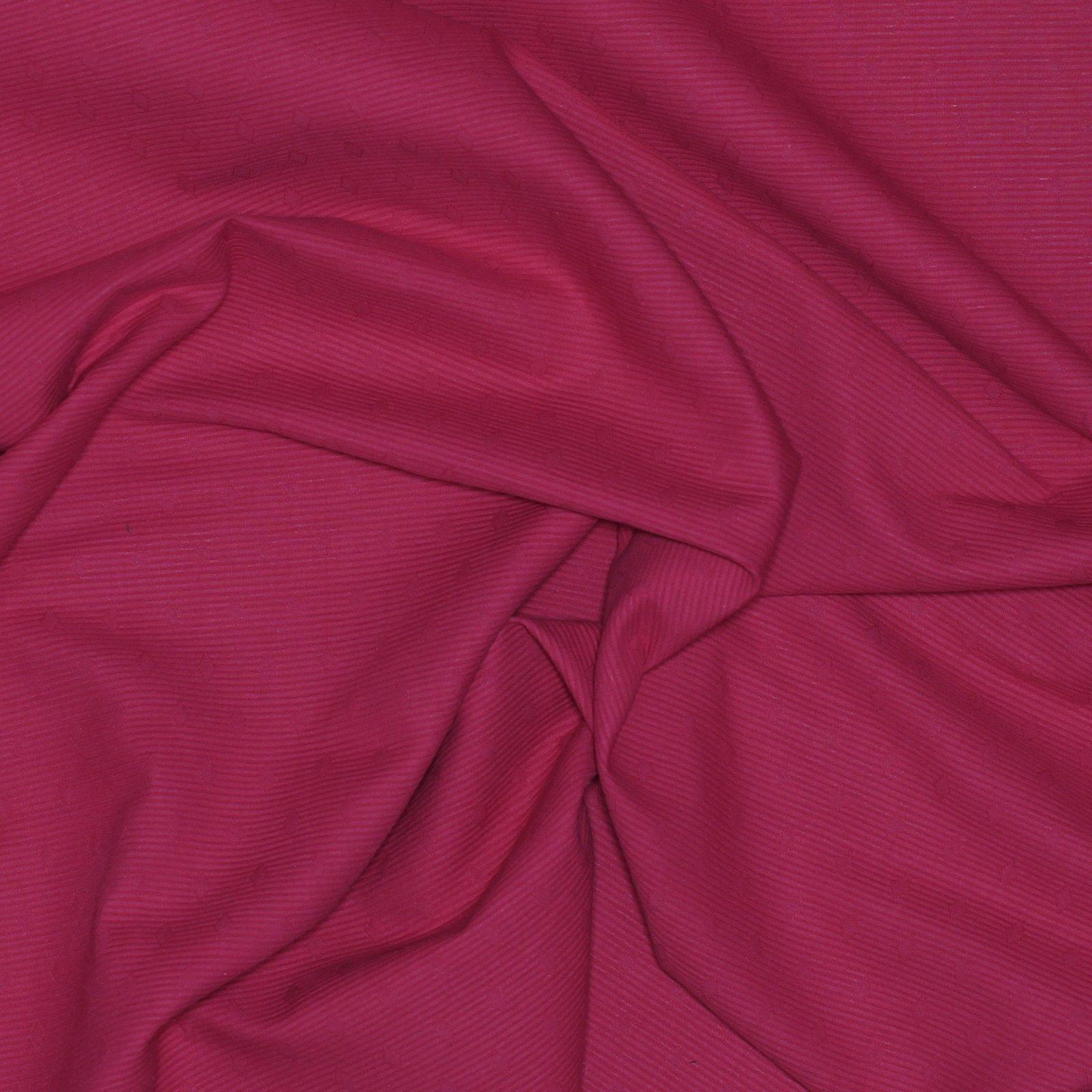 Red Swiss Pique Cotton
