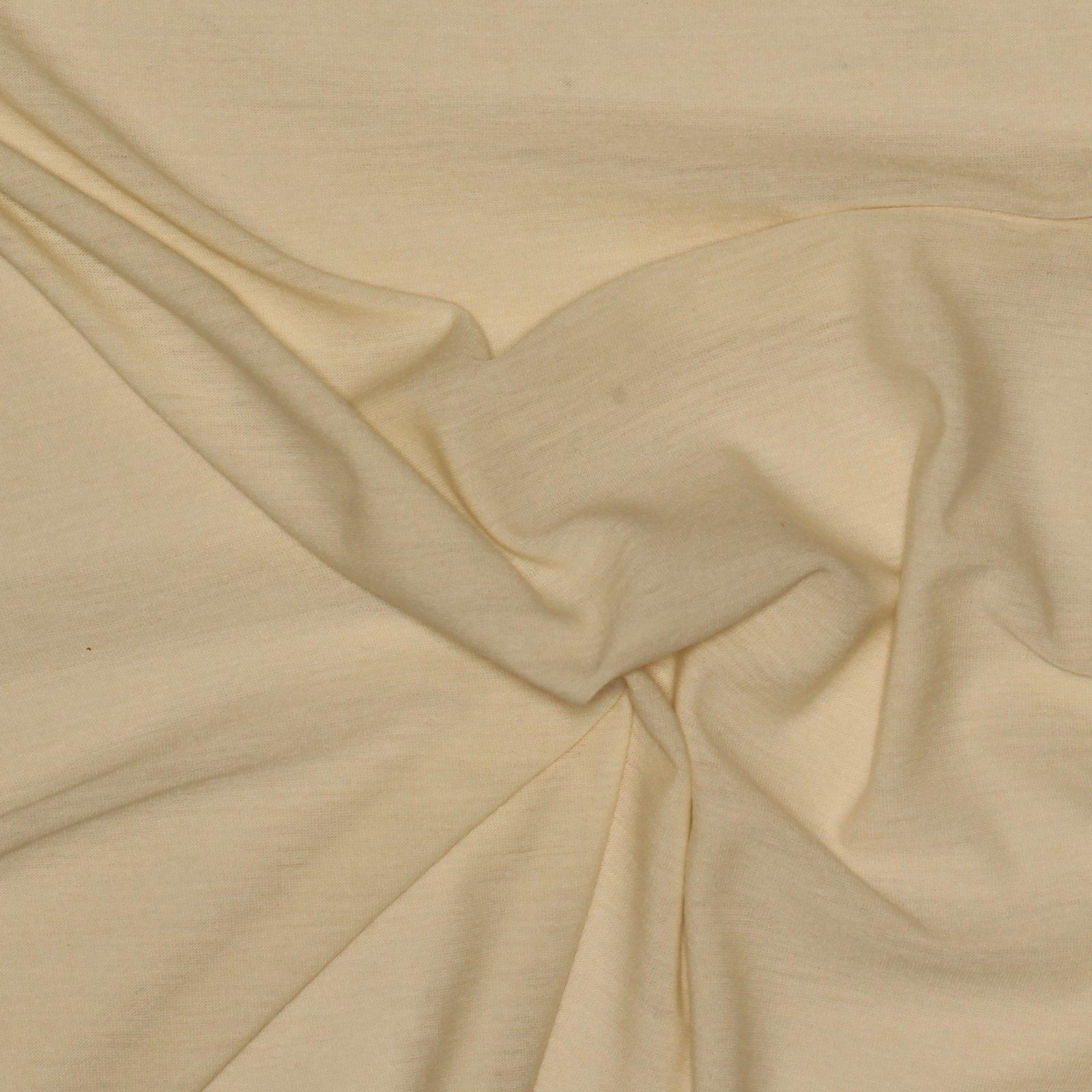 Winter White Wool Jersey