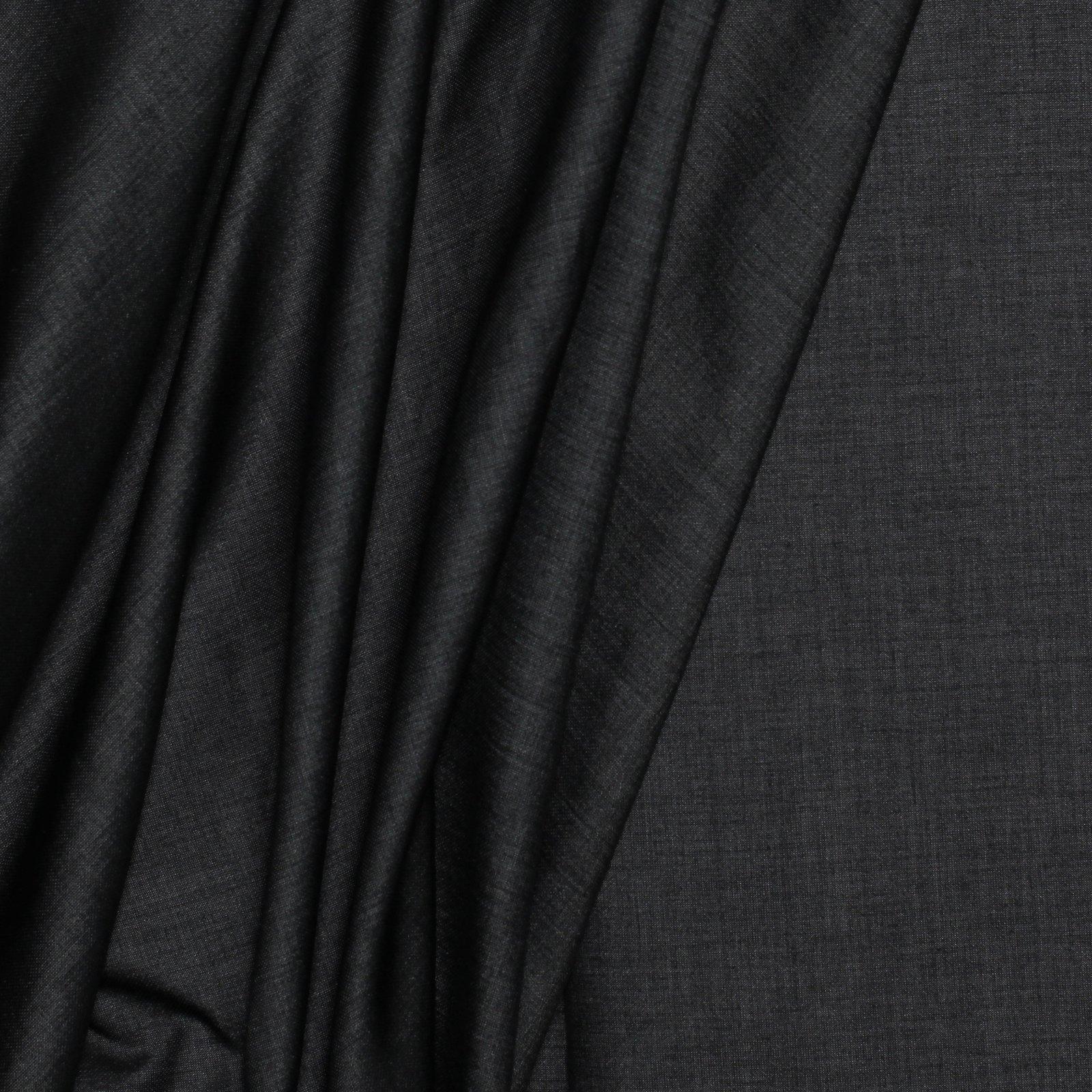 Black w/White reverse Italian Cotton/Silk