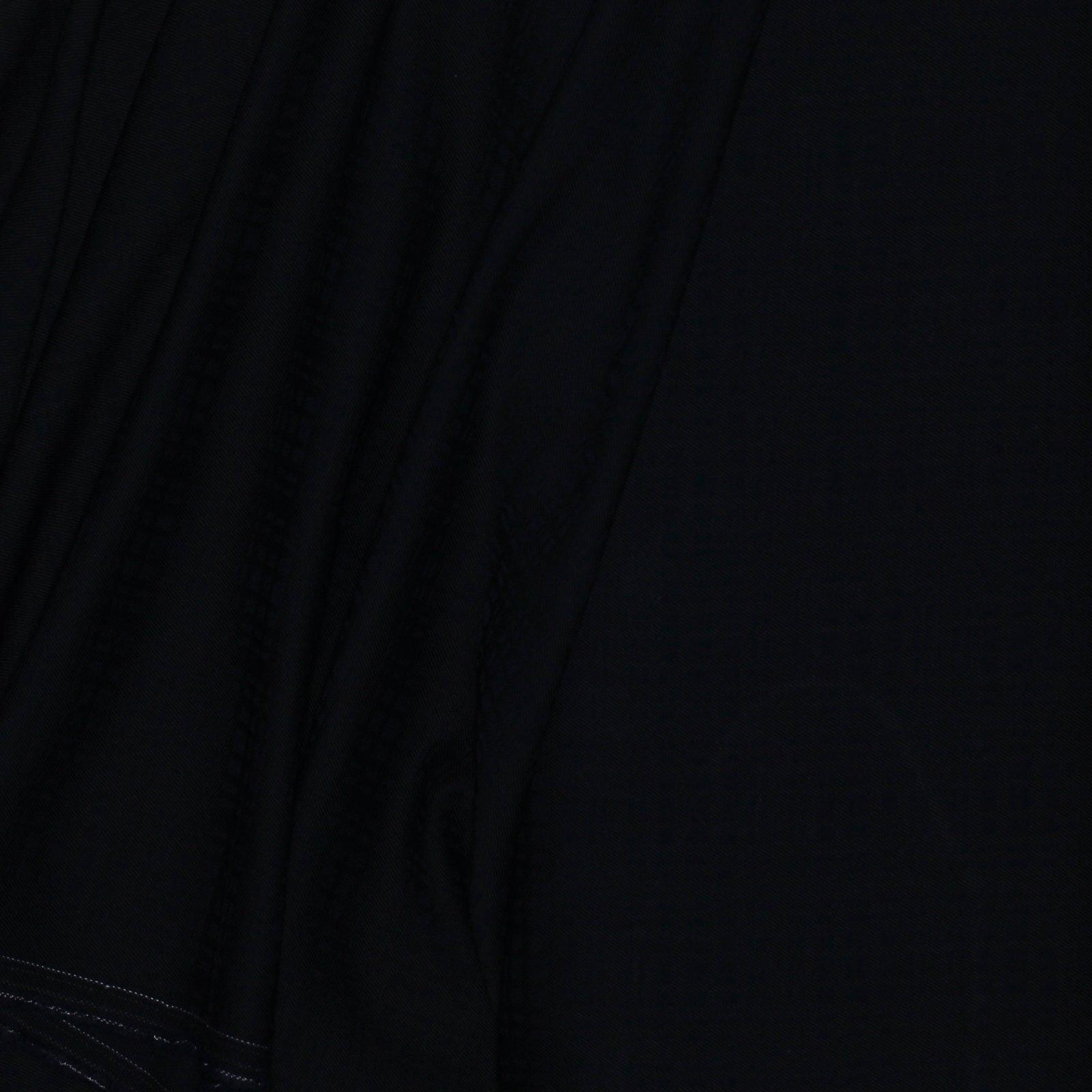 Black/Navy Woven Plaid Italian Wool