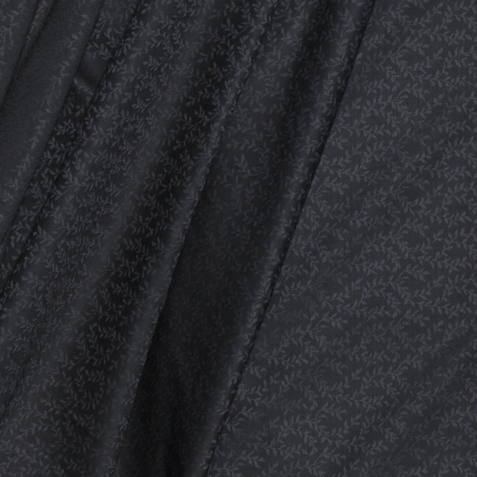 Grey/Black Reversible Italian Wool Jacquard