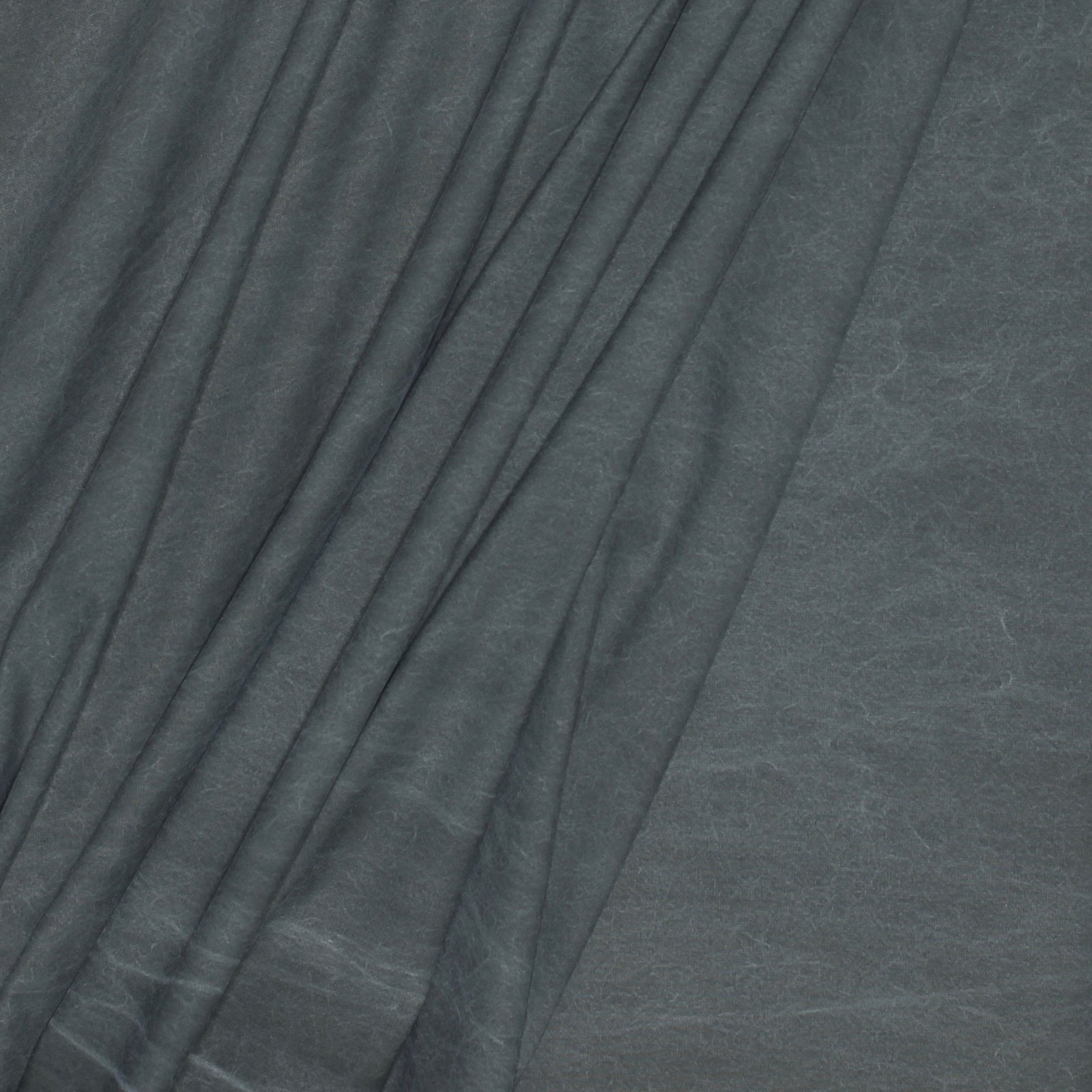 Grey Waxed Look Italian Cotton