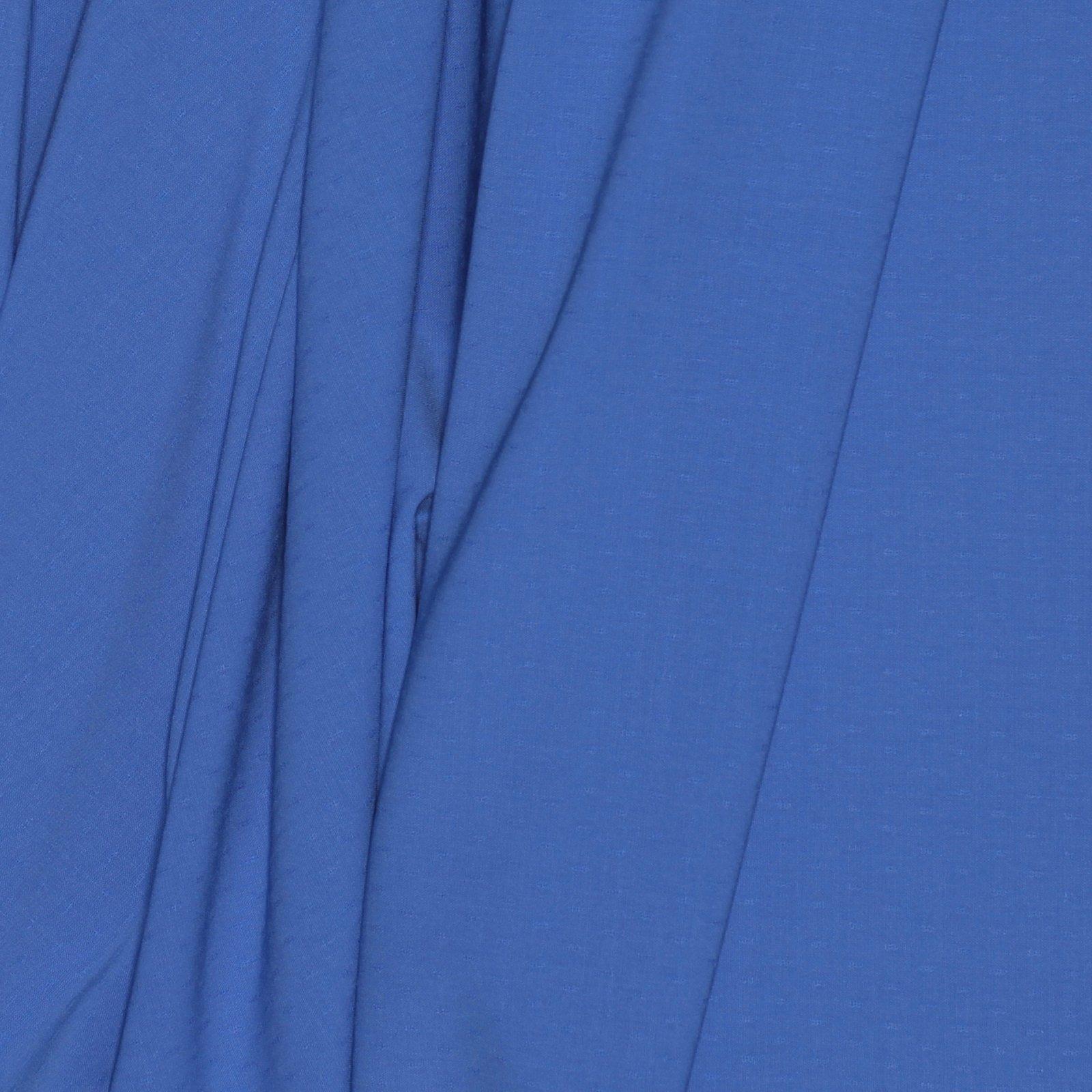 Periwinkle Woven Dot Italian Wool/Lycra