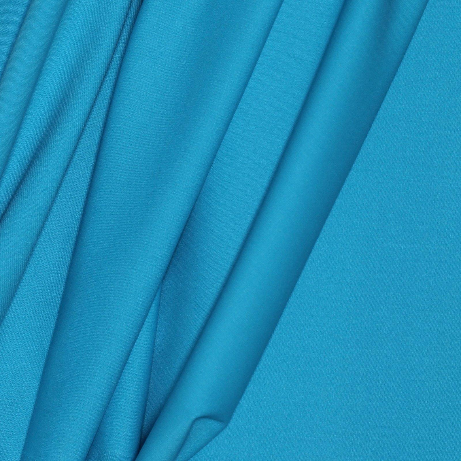 Sky Blue Smooth Italian Wool/Lyrca Crepe
