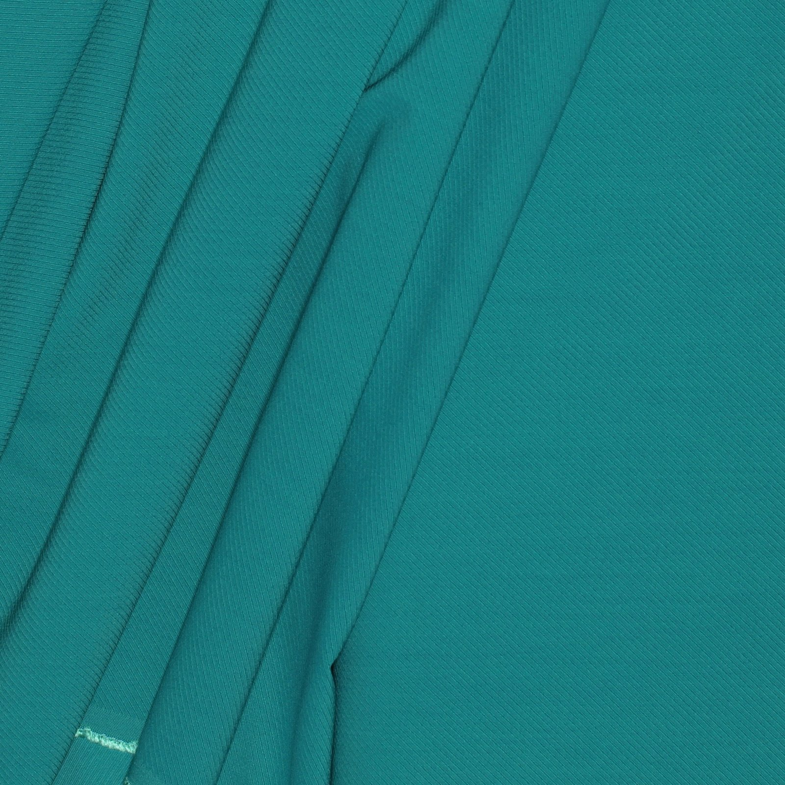 Green/Blue Twill Weave Italian Wool/Silk/Lycra Blend